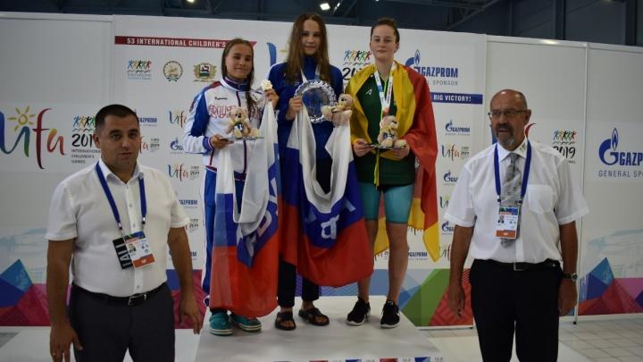 Актив сборной Уфы на Международных детских играх пополнился второй золотой медалью