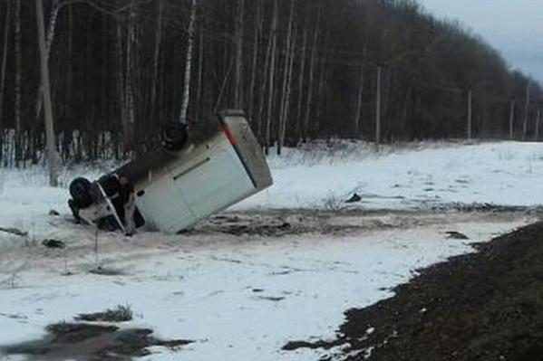После такого приземления водитель остался жив