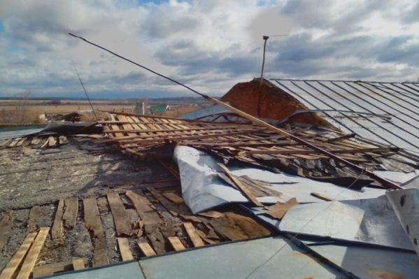 Работы по восстановлению проведут, когда утихнет ветер