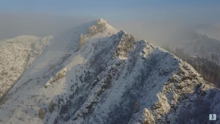Красноярец снял с высоты потрясающий ролик о красотах Сибири
