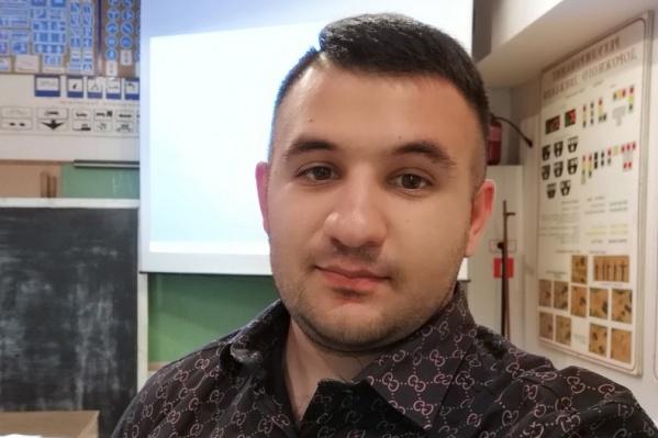 Гаспар Авакян месяц находится в СИЗО