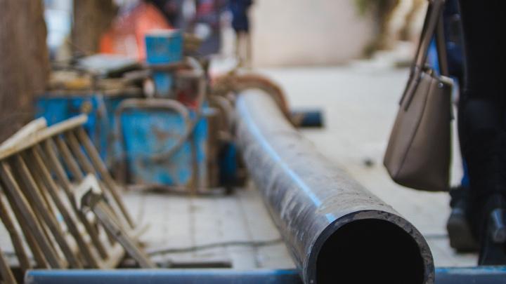 На Западном несколько улиц на сутки останутся без воды
