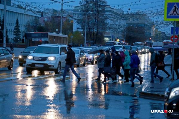 Уныние опустится на улицы Башкирии