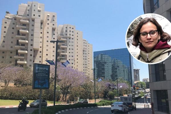 Анастасия живет в Израиле уже 5 лет