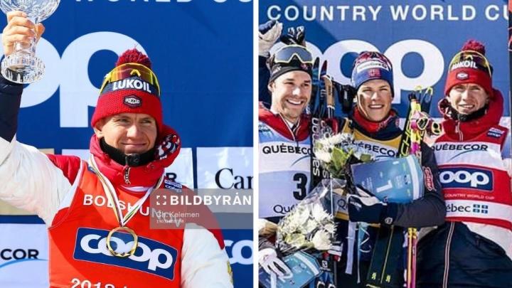 Тюменский спортсмен Александр Большунов стал бронзовым призёром Кубка мира по лыжным гонкам