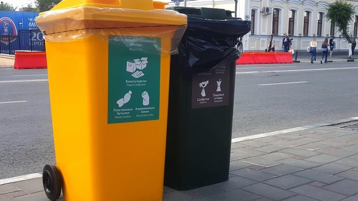 Цветные баки: в Самаре установили 1100 контейнеров для раздельного сбора мусора