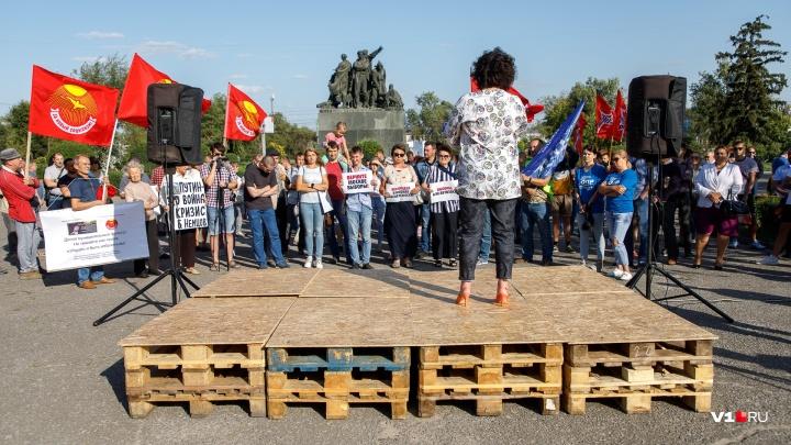 «В апатичном и зашуганном Волгограде 90 человек — не позор»: экс-депутат облдумы о митинге Любитенко