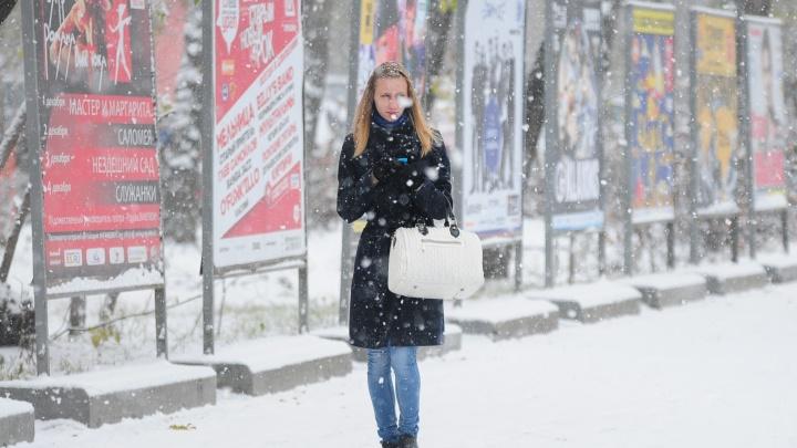 Выдыхайте: снегопады в Екатеринбурге отступят к середине недели