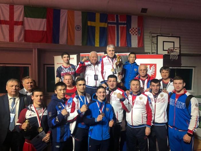 Сборная России завоевала на турнире первое общекомандное место