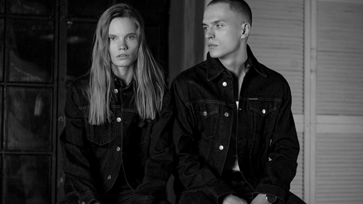 Модель из Красноярска снялась в эффектном ролике для журнала Harper's Bazaar и Calvin Klein