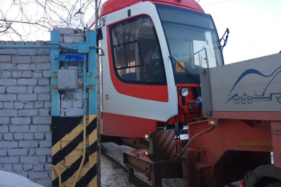 Усть-Катавский вагоностроительный завод в этом году поставил в Волгоград 20 новых трамвайных вагонов