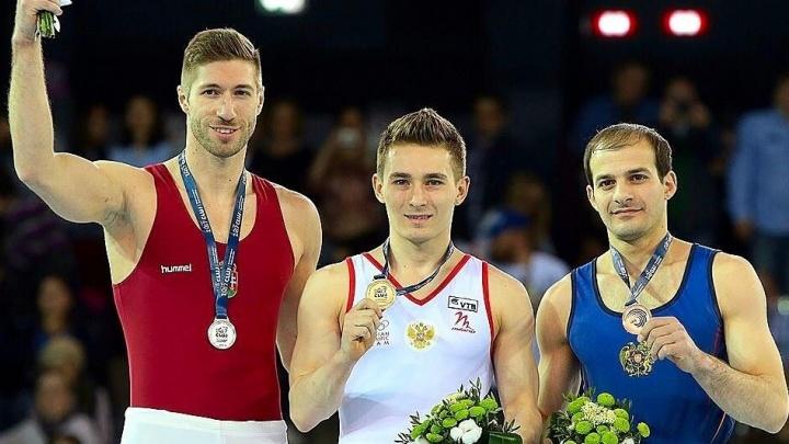 Спортсмен из Екатеринбурга Давид Белявский стал чемпионом Европы в упражнениях на коне