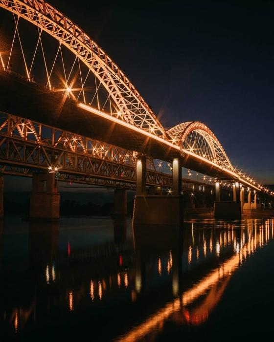 В Нижнем Новгороде есть свой мост «Золотые ворота»