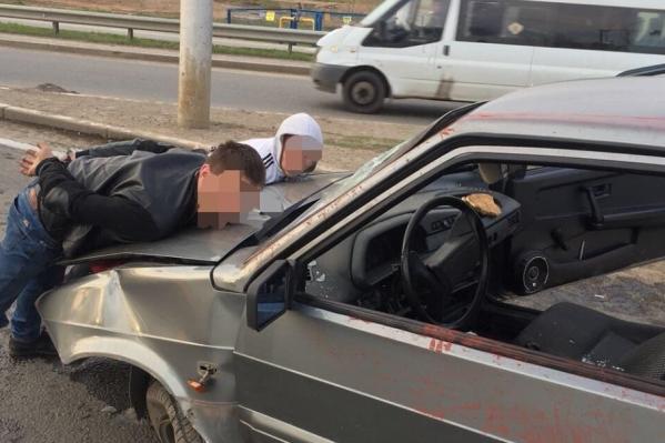 Нарушителей поймали на улице Жукова