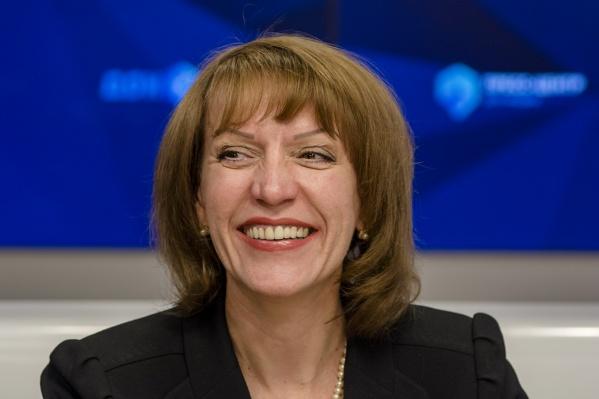 Светлана Камбулова, руководитель департамента экономики городской администрации