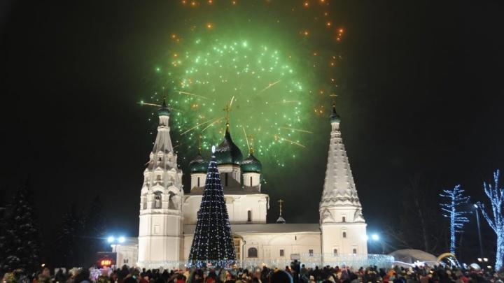 Слушали Burito и гуляли до утра. Как ярославцы на Советской площади отметили Новый год: фото и видео