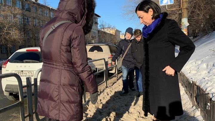 Наталья Котова рассказала про жалобы челябинцев на уборку улиц