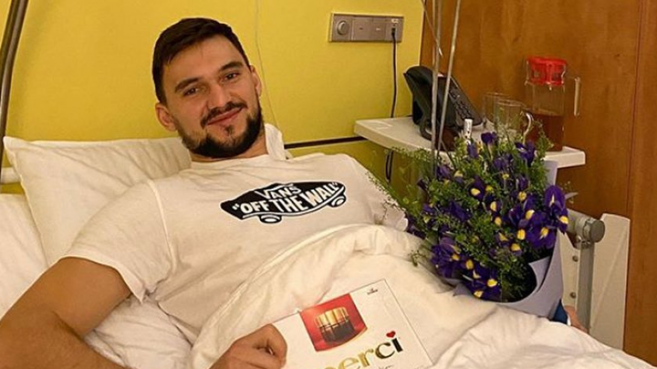 Вратарь «Автомобилиста» Якуб Коварж перенес операцию