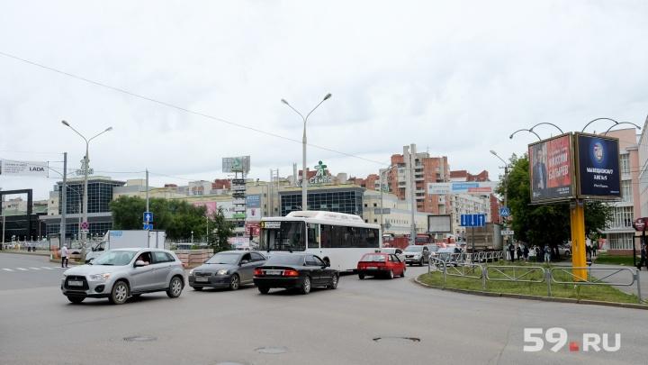 Все, кроме одного: в Перми шесть автобусных маршрутов вернутся на улицу Островского