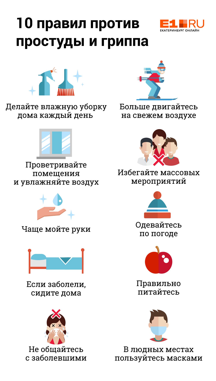 В поликлиниках очереди: в Екатеринбурге резко увеличилось число простуженных