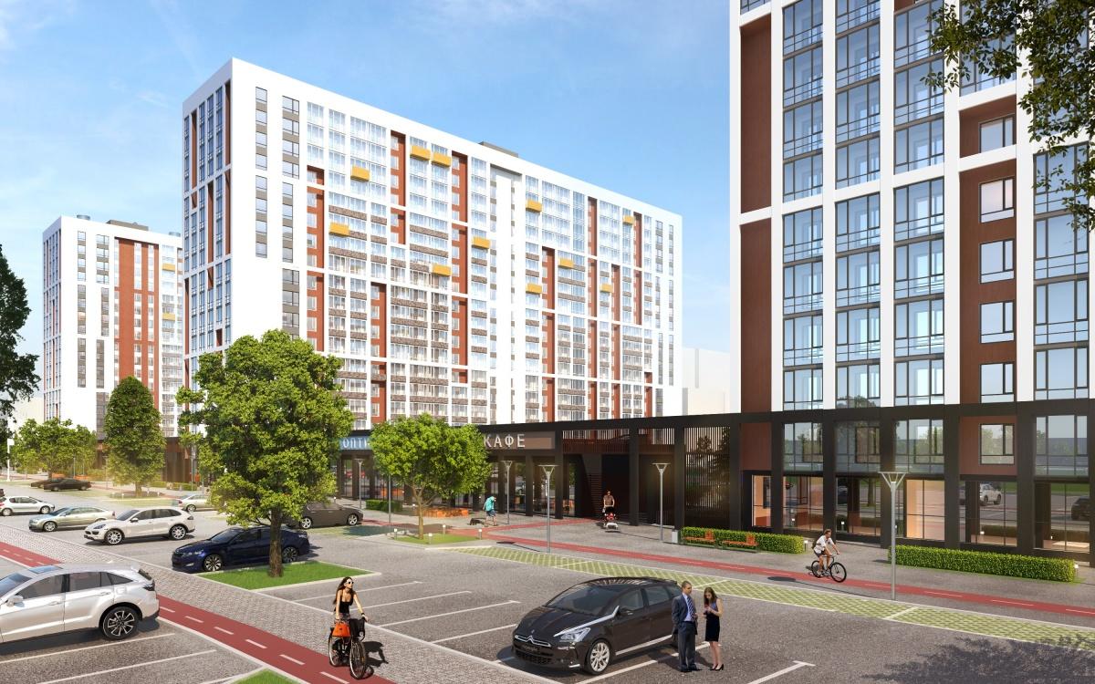 ЖК «Клевер парк»: 7 счастливых квартир-студий со скидкой до 100000 р.