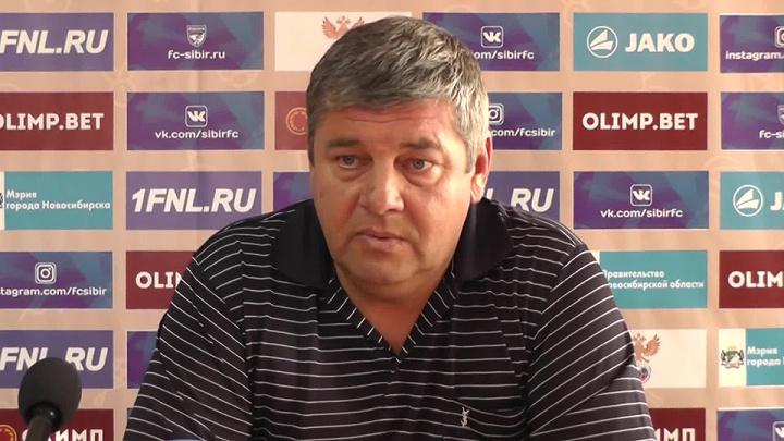 Главным тренером нового футбольного клуба в Новосибирске стал тренер «Сибири»