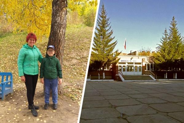 Ирина Дьякова не хочет возвращать сына в прежнюю школу