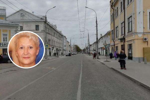 Галина Стребелева пропала в Рыбинске 7 ноября