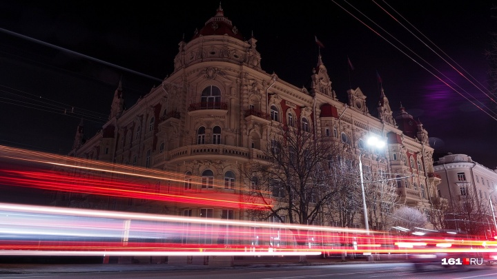 «Час Земли»: в Ростове на зданиях выключили подсветку