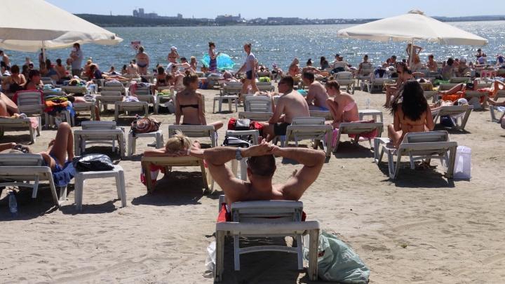 Снова до +36 °С: МЧС предупреждает южноуральцев о сильной жаре