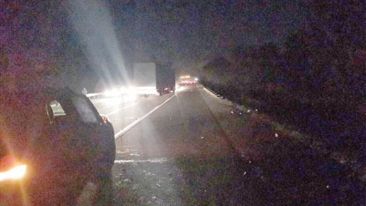 Шел в тапочках: в Ярославской области иномарка насмерть сбила пешехода