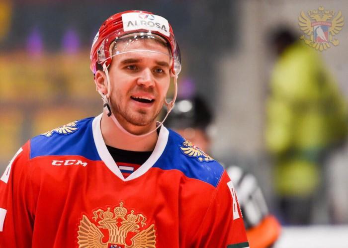 Никита Трямкин сыграет в Дании за сборную России