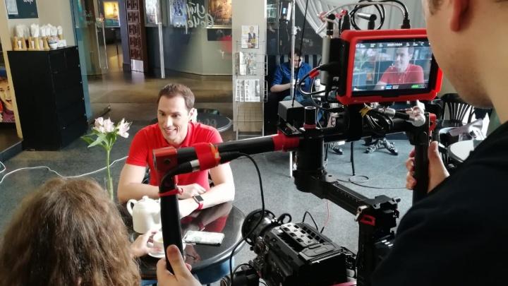 Скандальный актёр приехал в Новосибирск сниматься в кино