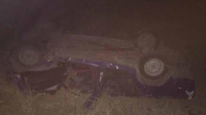 Легковушка на скорости вылетела в кювет на трассе Черлакского района — погиб 20-летний омич