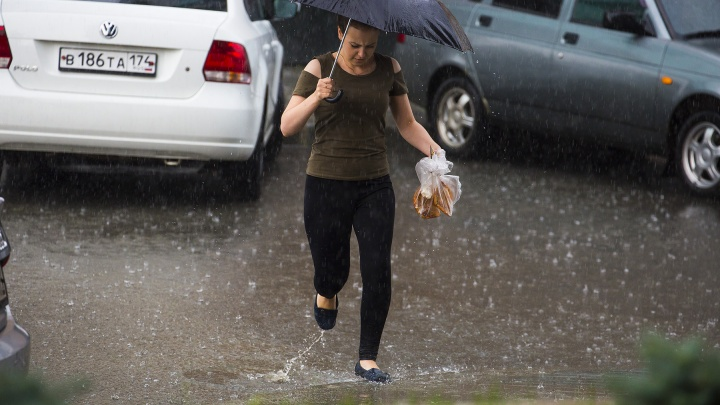 Вместо пуховой бури грозовые дожди: синоптики предупредили челябинцев о разгуле стихии