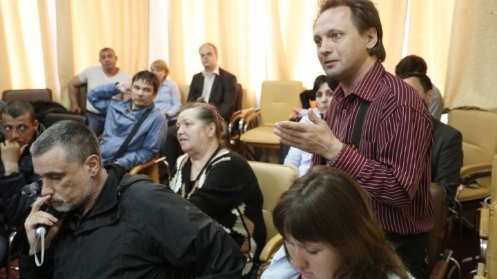 Дольщики и строители решили пожаловаться Путину на вице-спикера челябинского Заксобрания