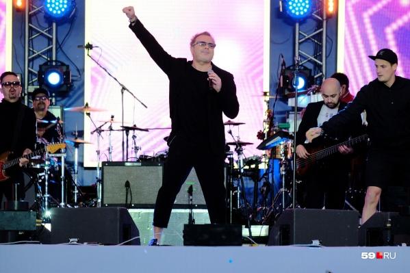 Владимир Пресняков выступал перед пермяками 12 июня