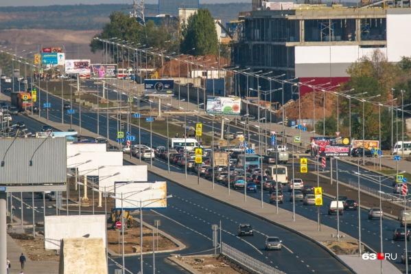 Реконструкцию Московского шоссе проводили в 2014–2017 годах