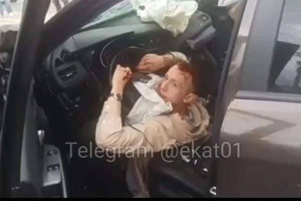 Водитель, который устроил аварию с двумя погибшими