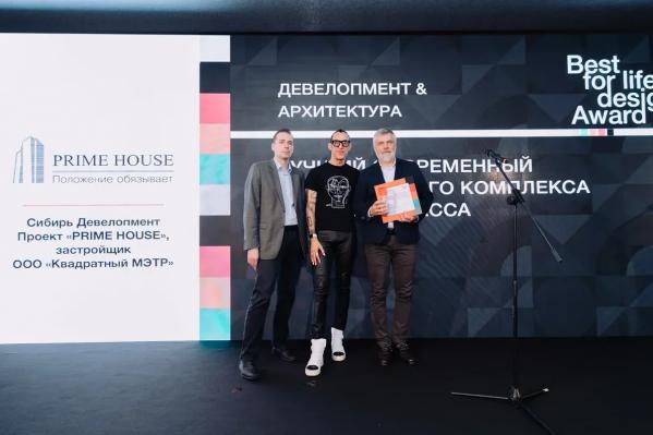 Новосибирский жилой комплекс стал лауреатом международной премии по архитектуре — единственный за Уралом