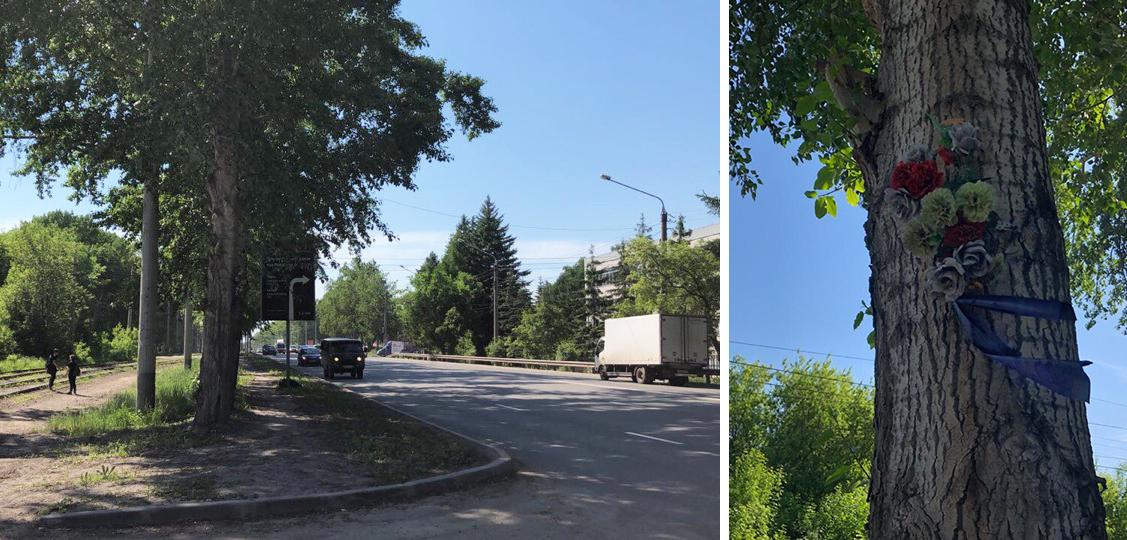Кенотаф Максима Шукшина на улице Петухова
