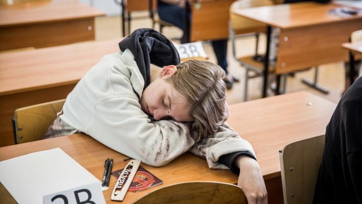 Под прицелом камер: как школьники сдавали первый ЕГЭ в Новосибирске