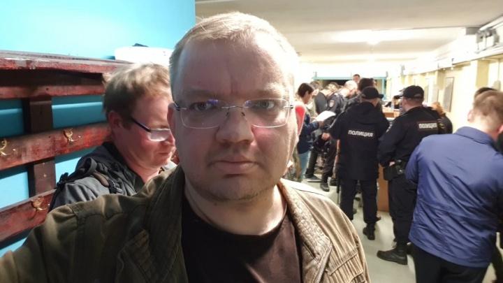 Журналист Сергей Панин о задержании на митинге: «Я до последнего верил, что полиция разберется»