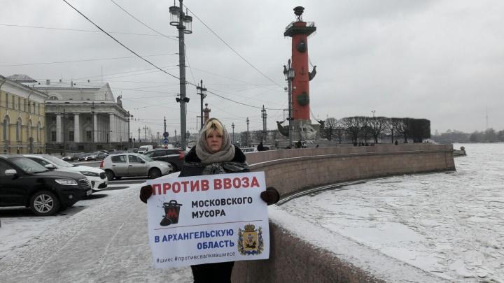 «Переживаем за Архангельскую область»: почему Петербург примкнул к антимусорному протесту 3 февраля
