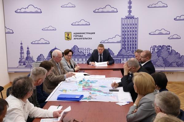 Предложения проектировщика обсуждали назаседании градостроительного совета