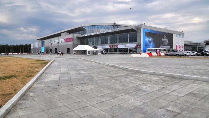 Конгресс-холл в «Екатеринбург-Экспо», где соберутся десять президентов, достроят уже в июне