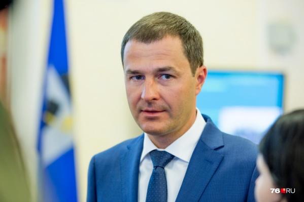 Мэр Ярославля Владимир Волков еще не вышел на работу