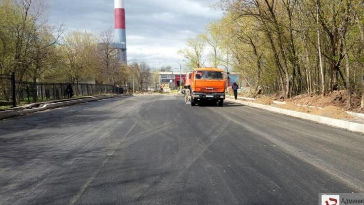 В Уфе ремонтируют одну из самых проблемных улиц