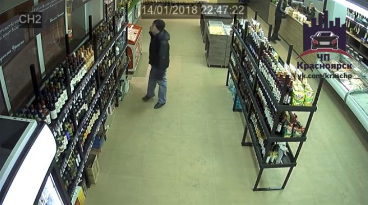 Воры вернулись в магазин на место преступления и потерпели фиаско из-за записей с камер