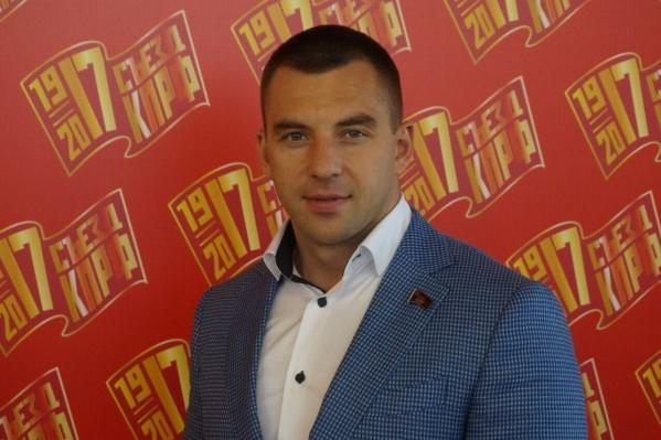 Илья Кузьмин — депутатЗаксобрания Прикамья от КПРФ